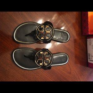 Tory Burch Shoes - Tory Burch Miller Logo Sandal